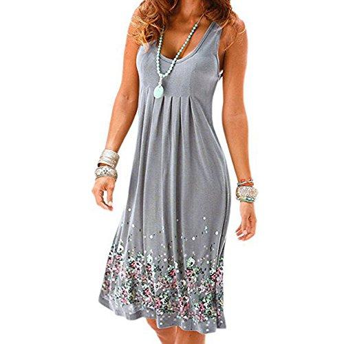 Mädchen-Kleid, Sommerkleid, lange Sommerkleid, Damen-Kleid, kurzes Strandkleid, ärmellos, Sommerkleid, Sommerkleid,...
