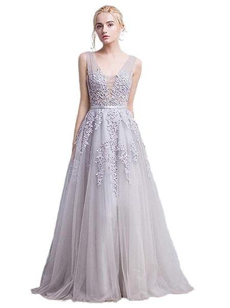 Boho Brautkleid Boho Hochzeitskleid spitze weiß lang rückenfrei
